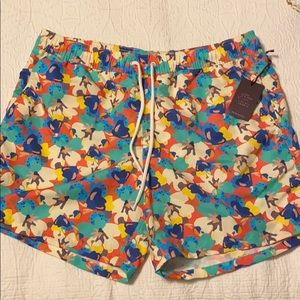 NWT J. Crew Men's Liberty London Swim Trunks